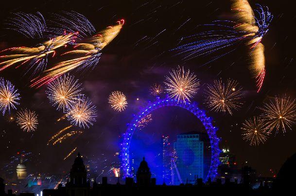 В Лондоне Новый Год отмечают по полной программе!