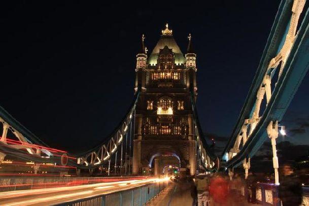 Ночной Лондон по особенному хорош