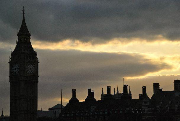 В октябре в Лондоне дождливая погода - не редкость