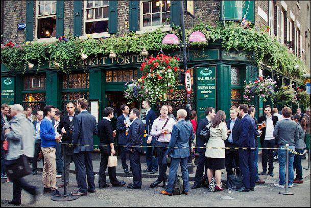 Обязательно побывайте в настоящем лондонском пабе!